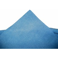 Pack of 5 x Microfibre cloth Tricot Laser Auto 40 x 40 cm blue