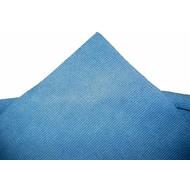Zakje 5 x Microvezeldoek Tricot Laser Auto 40 x 40 cm blauw