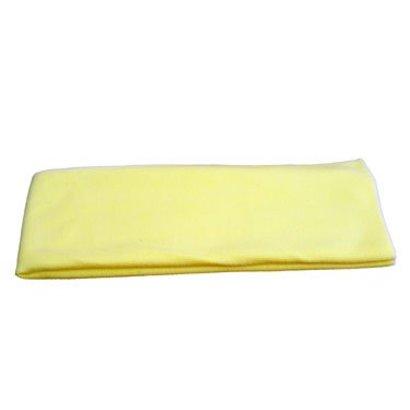 """Microvezeldoek """"Tricot Luxe"""" 80 x 40 cm geel"""