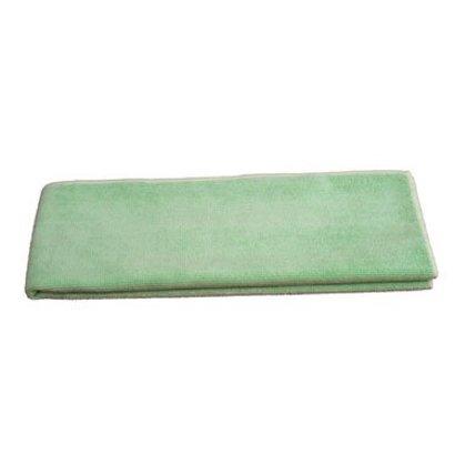 """Microvezel doek """"Tricot Luxe"""" 80 x 40 cm groen"""