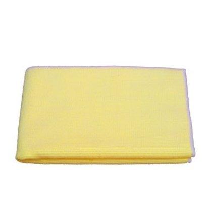 """Microvezel doek """"Tricot Luxe"""" 60 x 70 cm geel"""