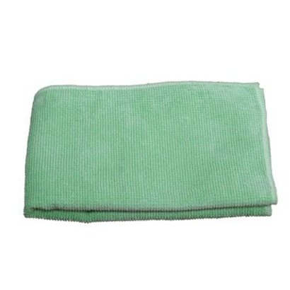 """Microvezel doek """"Tricot Luxe"""" 60 x 70 cm groen"""