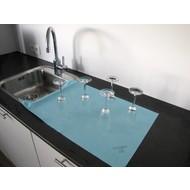 130 gr/m² Maxi-Micro-Fibre-Non-Tissé 40 x 76 cm bleu