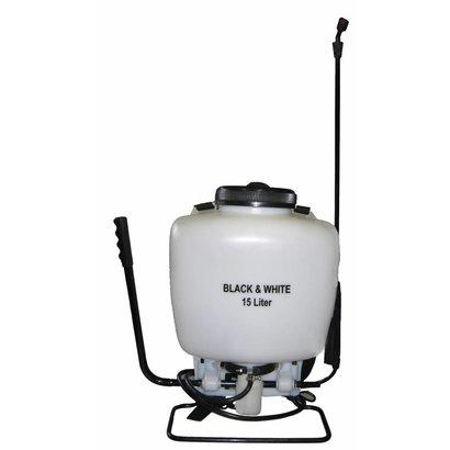 Black & White Sprayer 15 l (white tank)