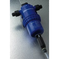 Dosing pump adjustable from 0.5 to 3 %