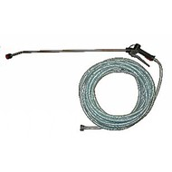 Spraying kit with hose 20 m and spraying lance stainless steel 90 cm