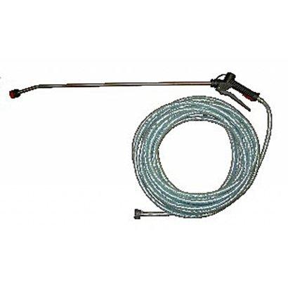 Nevelkit met slang 20 m en nevellans inox 90 cm