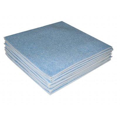 """Ścierka gąbczasta z mikrofibry """"Carré-Eponge"""" 24 x 24 cm niebieska"""