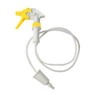Spryskiwacz do chemii / wąż ssący 1,2 m / biało-żółty