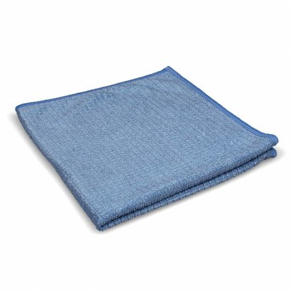 Zakje 5 x ''Quadri'' 39 x 39 cm blauw