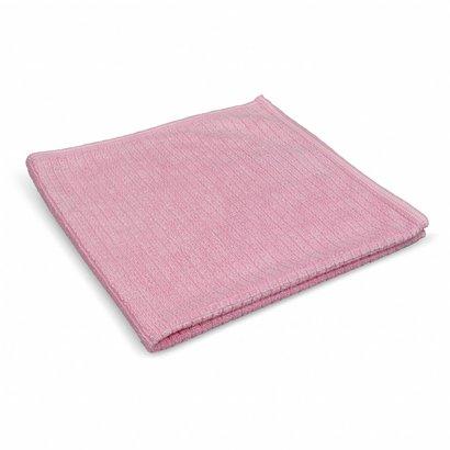 Zakje 5 x ''Quadri'' 39 x 39 cm roze