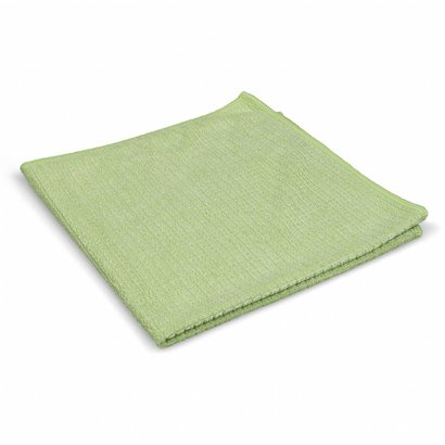 Pack of 5 x ''Quadri'' 39 x 39 cm green
