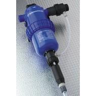 Pompe doseuse réglable de 0.5 à 3 % avec injection externe