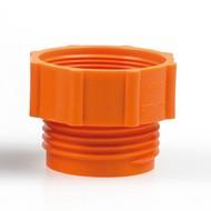 Adaptateur pour pompe vide fût orange