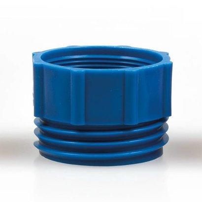 Adapter do beczek plastikowych niebieski