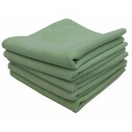 Zakje 5 x Tricot Luxe 32 x 30 cm groen
