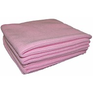 Zakje 5 x Tricot Luxe 32 x 30 cm roze