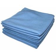 Sachet 5 x Tricot Luxe 32 x 30 cm bleu