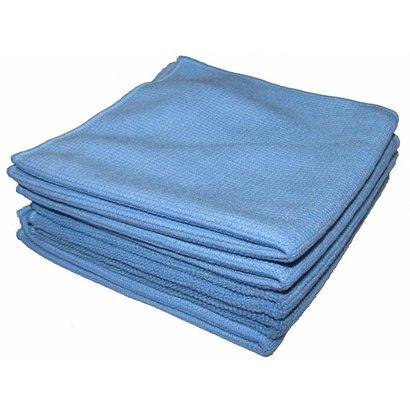 Zakje 5 x Tricot Luxe 32 x 30 cm blauw