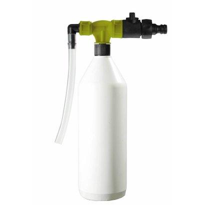 PORTADOZ Draagbaar afvulsysteem voor flessen - geel