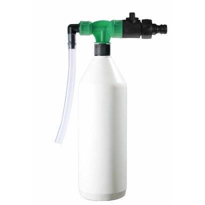 PORTADOZ Tragbares Abfüllsystem für Flaschen - grün