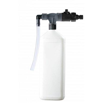 PORTADOZ Tragbares Abfüllsystem für Flaschen - grau