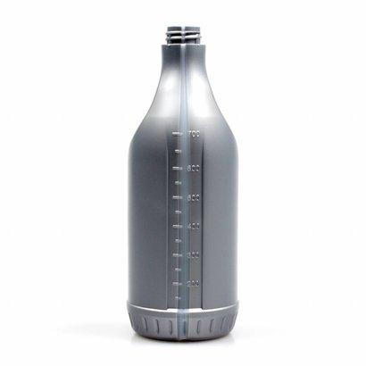 Polyethylenflasche mit Masseinteilung 750 ml grau