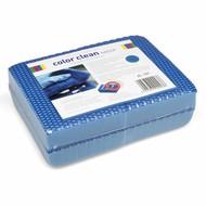 Zakje 4 x COLOR CLEAN HACCP spons blauw