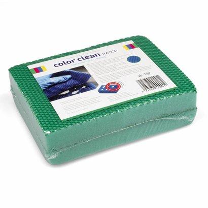 Beutel 4 x COLOR CLEAN HACCP-Schwamm grün