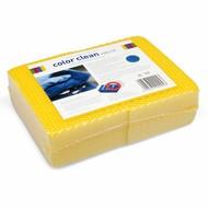 Zgrzewka 4 x Gąbka COLOR CLEAN HACCP żółta
