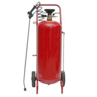 Spray-matic 24 L painted steel