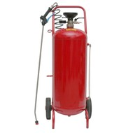 Spray-matic 50 L painted steel