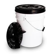 Separator brudu z wiadrem - zestaw do bezpiecznego mycia samochodu