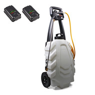 SAMOURAI Electric sprayer 30L on trolley-2 BATT