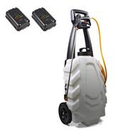 SAMOURAI Elektrische sprayer 30L op wielen-2 BATT