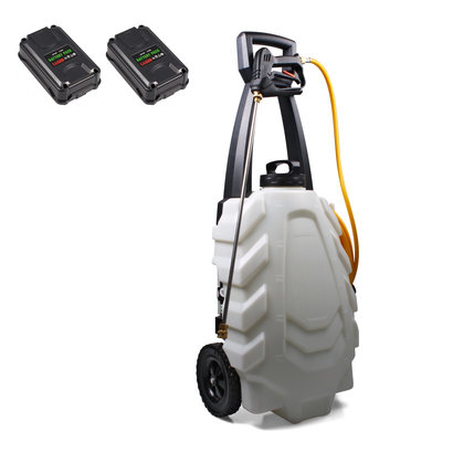 SAMOURAI Electric sprayer 30L on trolley-2 BATT