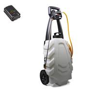 SAMOURAÏ Elektrischer Sprüher 30L auf Rollwagen - 1 Akku