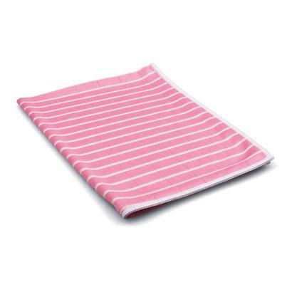 Beutel 1 x Bambus-Mikrofasertuch 48 x 36 cm rosa