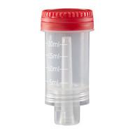 Dosierverschluss mit rotem Verschluss