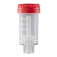Dosing cap with red cap