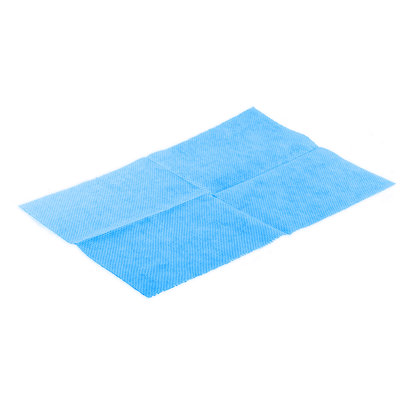 Beutel 25x Lavette Super HACCP 50 x 35 cm blau