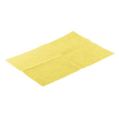 Zakje 25x Lavette Super HACCP 50 x 35 cm geel