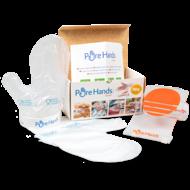 Pure Hands zestaw  rękawic higienicznych do żywności na blad
