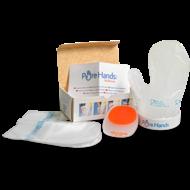 Pure Hands zestaw /rękawica higieniczna do żywności ze wspornikiem