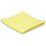Microfibre cloth ''Tricot Luxe'' yellow 32 x 30 cm