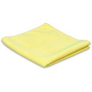 Ściereczka z mikrofibry 'Tricot Luxe' żółta 32 x 30 cm