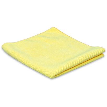 Microvezeldoek Tricot Luxe 32 x 30 cm geel