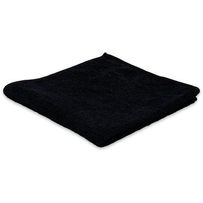 Zakje 5x Microvezeldoek BLACK 40 x 40 cm zwart
