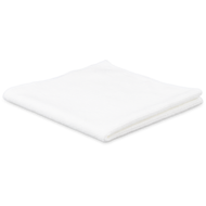 Pack of 10 x Tricot FIRST white 38 x 38 cm
