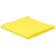Pack of 10 x Tricot FIRST yellow 38 x 38 cm